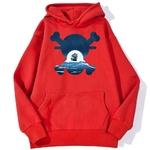 sweatshirt hoodie one piece skull merry rouge