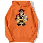 sweatshirt hoodie one piece legends orange