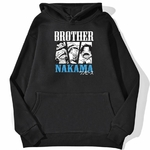 sweatshirt hoodie one piece brother nakama noir