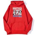 sweatshirt hoodie one piece brother nakama rouge