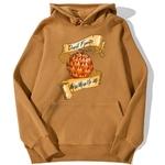 sweatshirt hoodie one piece fruit demon brun