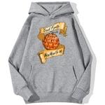 sweatshirt hoodie one piece fruit demon gris