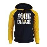sweatshirt hoodie one piece shadows noir jaune