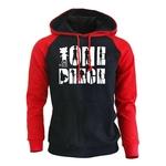 sweatshirt hoodie one piece shadows noir rouge