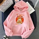 sweatshirt hoodie one piece luffy ramen rose