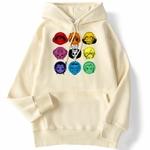 sweatshirt hoodie one piece mugiwara beige