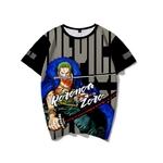 t shirt one piece wanted roronoa zoro 2