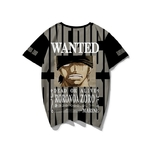 t shirt one piece wanted roronoa zoro 3