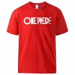 t shirt one piece rouge