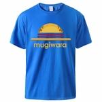 t shirt one piece mugiwara bleu