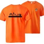 t shirt one piece mugiwara shadows orange