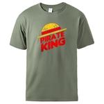 t shirt one piece pirate king kaki
