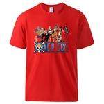 t shirt one piece nakama rouge