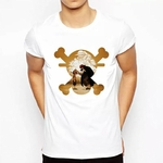 t shirt one piece luffy shanks commencement 1