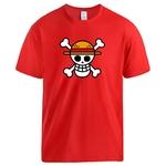 t shirt one piece logo rouge