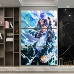 tableau toile one piece 3 parties aokiji 3