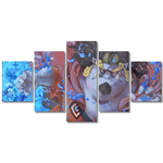 tableau toile one piece 5 parties jinbe 3