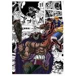 tableau toile one piece manga luffy kaido 3