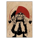 tableau toile one piece red point barbe blanche 3