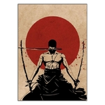 tableau toile one piece red point zoro 3