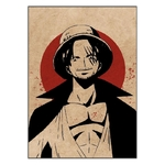 tableau toile one piece red point shanks 3