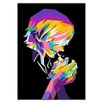 tableau toile one piece vinsmoke sanji color 3