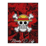 tableau toile one piece jolly roger monkey luffy 3