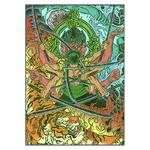 tableau toile one piece roronoa zoro bouddha 3