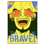 tableau toile one piece quote usopp 3