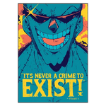 tableau toile one piece quote franky 3