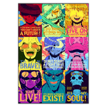 tableau toile one piece quote mugiwara 3
