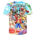 t shirt one piece mugiwara shirahoshi 2