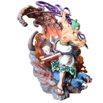 figurine one piece rornoa zoro wano enma power 3