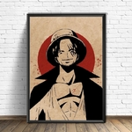 tableau toile one piece red point shanks 4