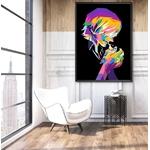tableau toile one piece vinsmoke sanji color 5