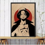 tableau toile one piece red point shanks 5