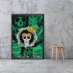 tableau toile one piece jolly roger brook 5
