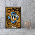 tableau toile one piece jolly roger nami 5