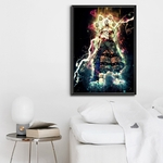 tableau toile one piece sparks enel 6