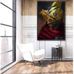 tableau toile one piece usopp sniperking 5