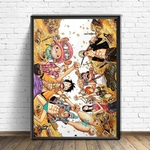 tableau toile one piece mugiwara treasure 4