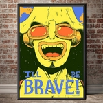 tableau toile one piece quote usopp 4