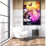 tableau toile one piece big mom hungry 5