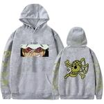 sweatshirt one piece pirate usopp gris
