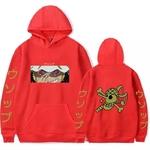 sweatshirt one piece pirate usopp rouge