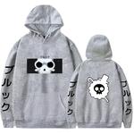 sweatshirt one piece pirate brook gris