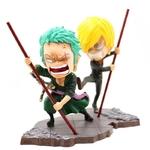 figurine one piece roronoa zoro vinsmoke sanji 7