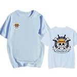 tshirt one piece helm barre thousand sunny bleu