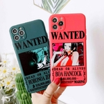coque iphone one piece affiche wanted 2