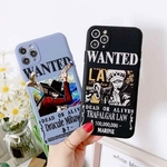 coque iphone one piece affiche wanted 3